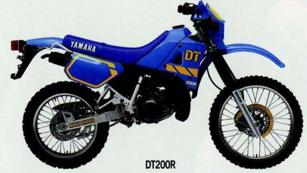 Ficha Técnica DT 200R 1991.