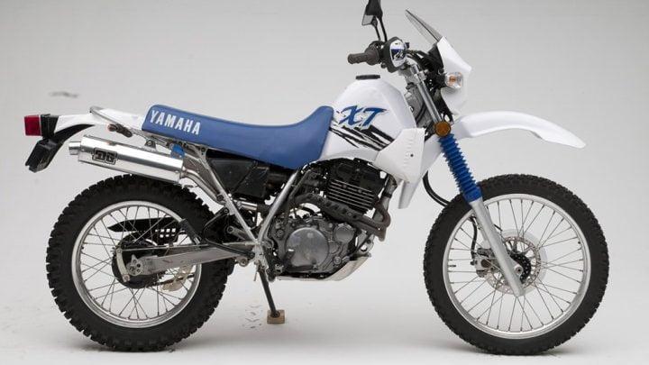 La historia de la Yamaha XT.