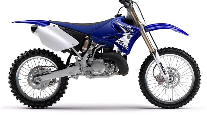 La historia de la Yamaha YZ 250 2T.