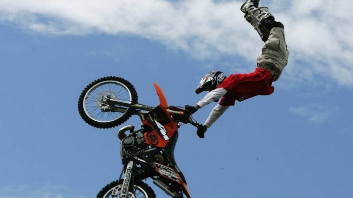 Freestyle de motocross.