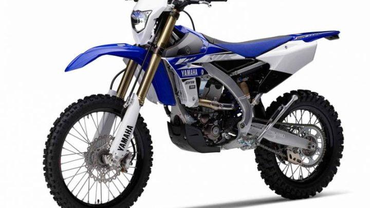 Ficha técnica Yamaha WR 450 F 2017