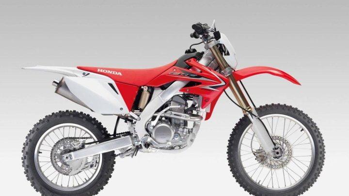 Ficha técnica Honda CRF250X