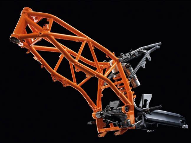 Cómo construir un marco de motocicleta