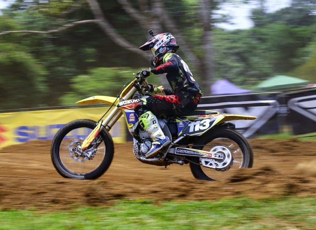 Justin Alvarado gana la carrera MX2 de la quinta fecha.