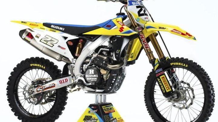 SUZUKI renueva la RM-Z 450 para el 2018