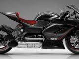 La MTT 420R, una moto con turbina de helicóptero