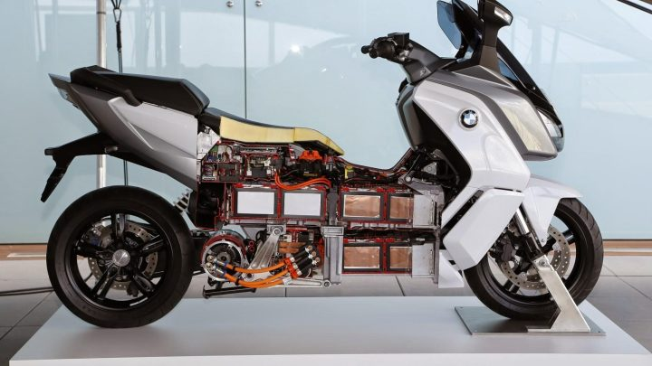 La moto reciclable de BMW