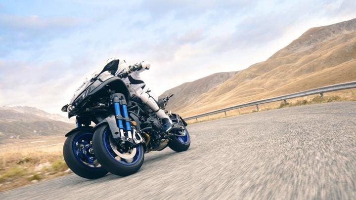 Conoce la nueva Yamaha Niken 2018