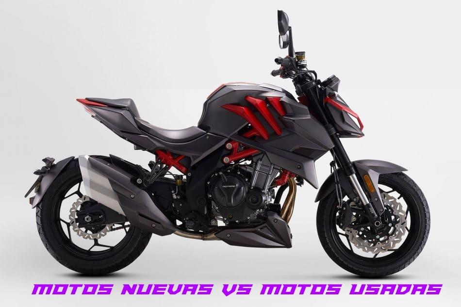Motos Nuevas vs Motos Usadas