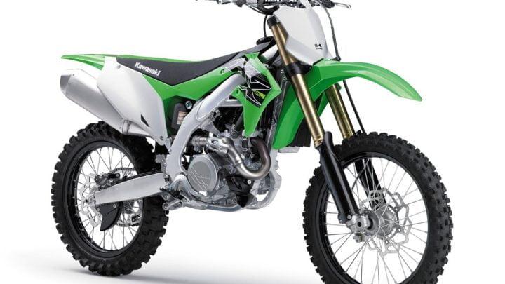 Kawasaki presenta la nueva motocicleta KX450F 2019