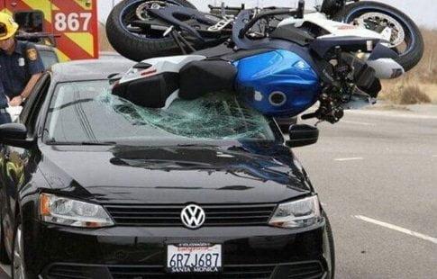 Accidentes en moto, es nuestra culpa?
