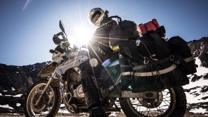 Formas para montar el equipaje en la moto.