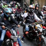 Me afecta la huelga, Motos en Costa Rica