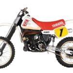 La Yamaha YZ 490