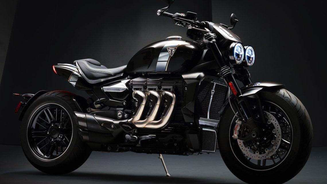 Triumph lanza la Rocket 3 TFC 2019 2,500 cc