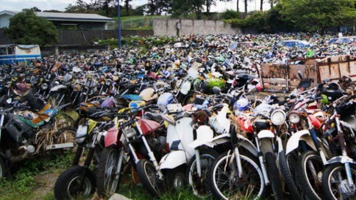 Cada mes 1150 motos decomisadas en Costa Rica