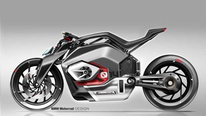 Motocicleta eléctrica BMW Vision DC Roadster