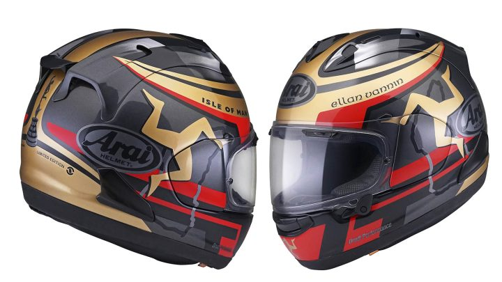 ARAI ISLE OF MAN TT EDICIÓN LIMITADA CORSAIR-X 2020
