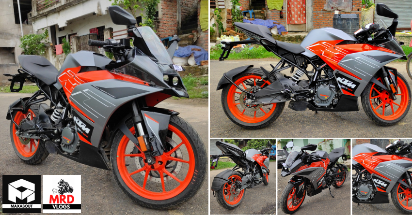 BS6 KTM la version limitada de la RC200