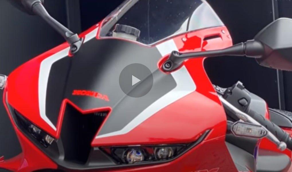 Presentacion CBR600RR 2021 en Video