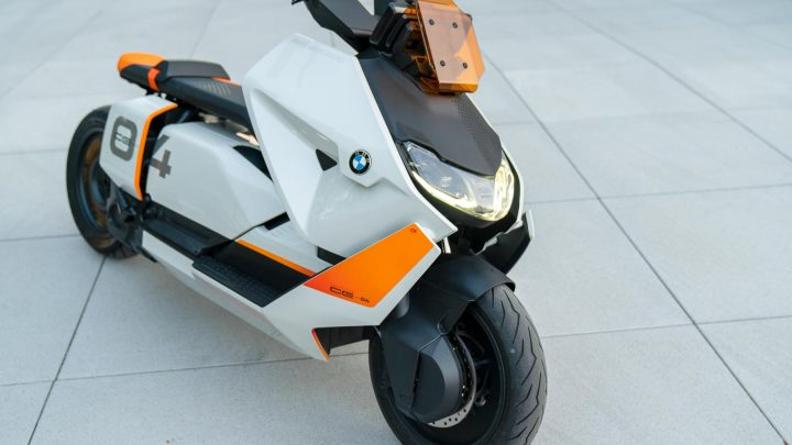 BMW Definition CE 04 Concept Scooter