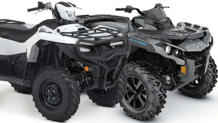 Can-Am Outlander 650 VS Suzuki KingQuad 750AXi 2021