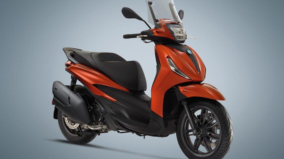 Gama de scooters Piaggio Beverly 2021