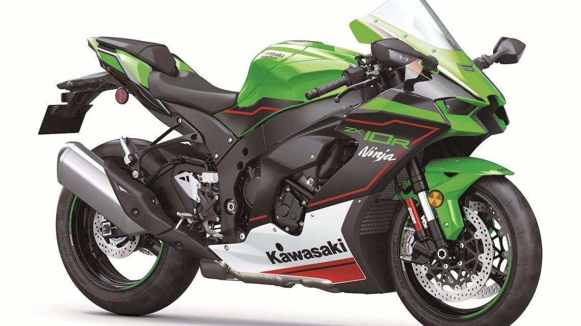 Kawasaki Ninja ZX-10R y ZX-10RR 2021
