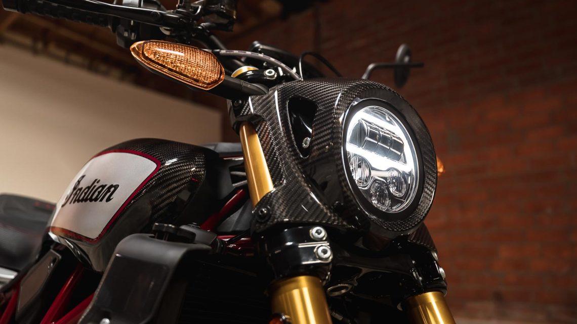 Indian está creando tecnología para que conducir en moto de noche sea más seguro