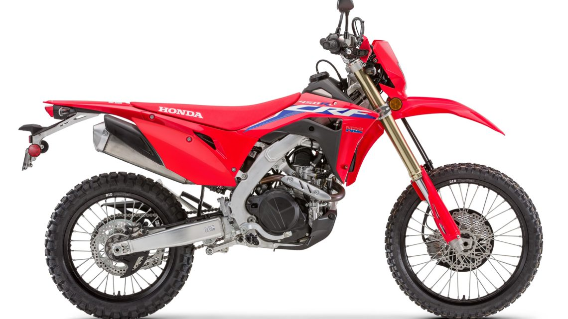 Ficha Técnica Honda CRF450RL (y CRF450X) 2022