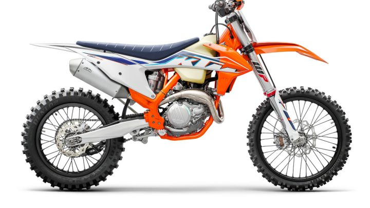 Ficha Técnica KTM 450 XC-F (350 XC-F y 250 XC-F) 2022