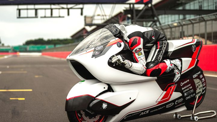 La WMC250EV de White Motorcycle Concepts