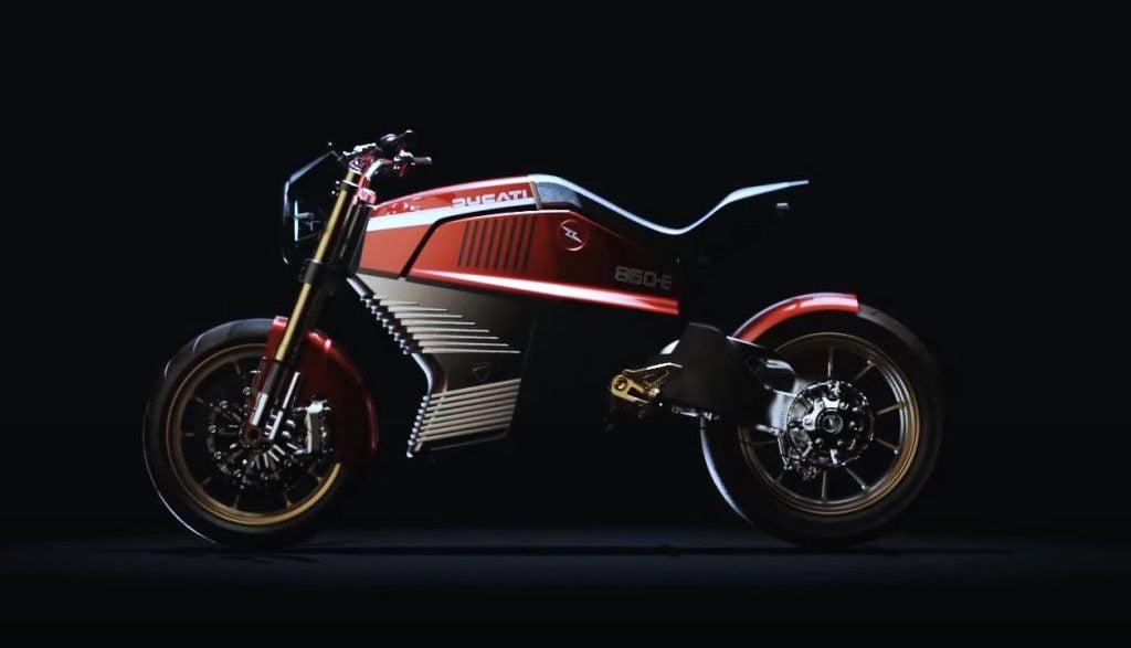 Italdesign Ducati eléctrica