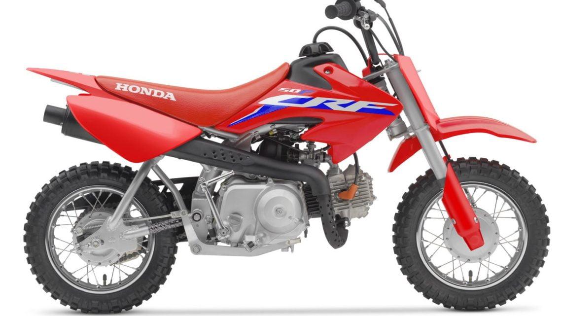 Ficha Técnica Honda CRF50F 2022