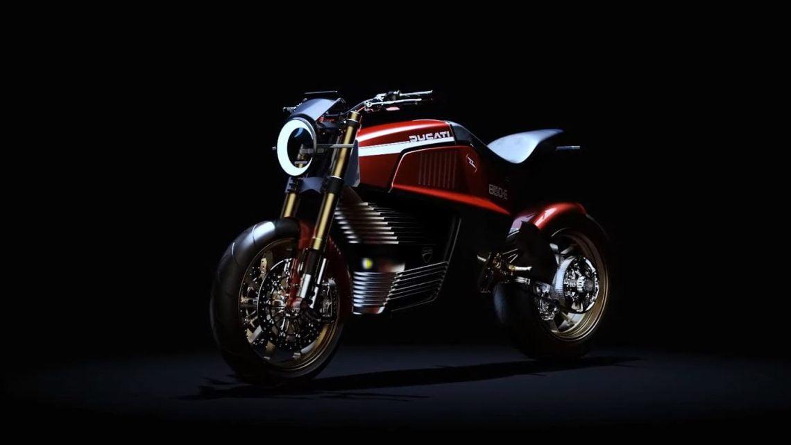Italdesign nos regala una Ducati eléctrica