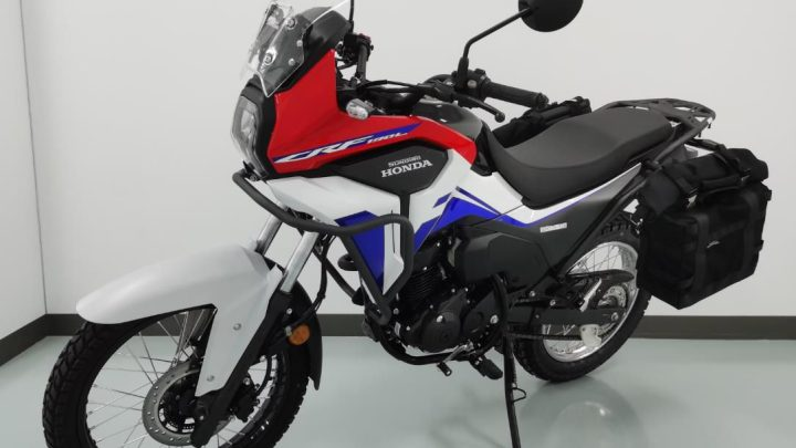 Honda CRF190L: se filtran detalles y fotos