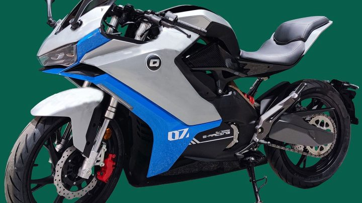 La nueva moto deportiva eléctrica de QJMotor