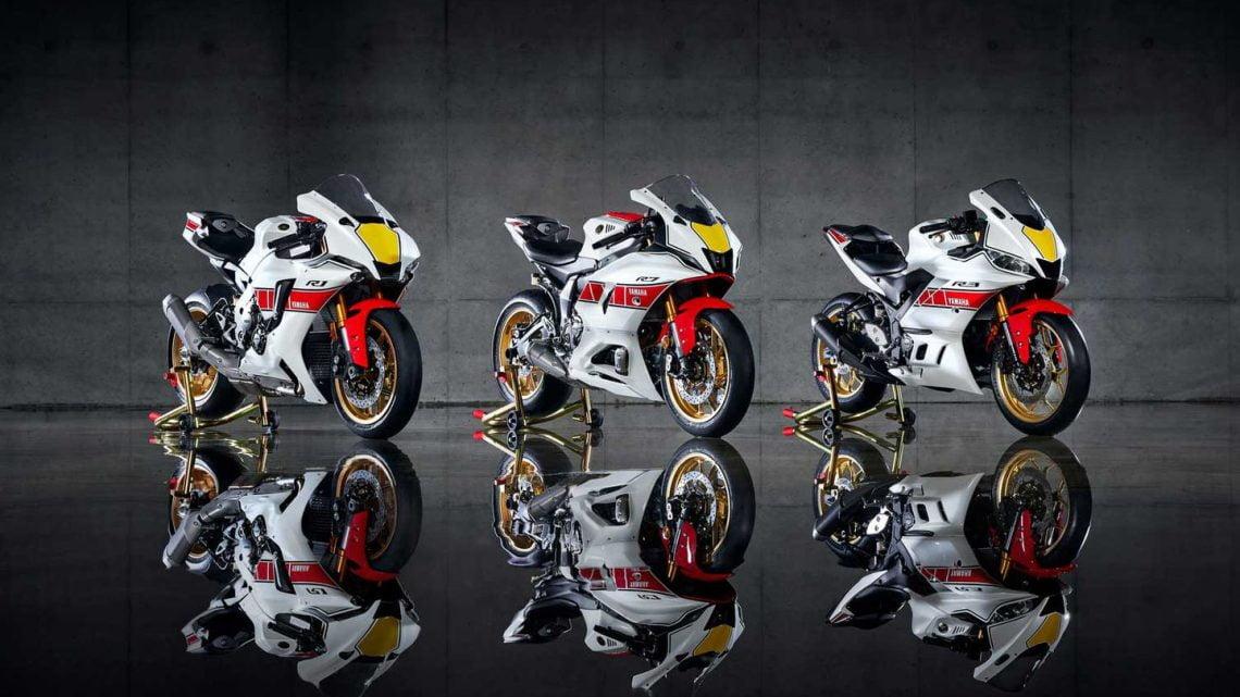Yamaha YZF World GP 60th Anniversary Editions 2022