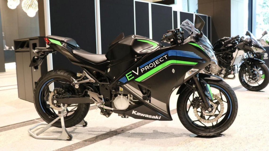 Kawasaki se vuelve eléctrica con ambiciosos planes